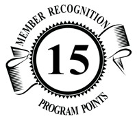 15 member recognition logo