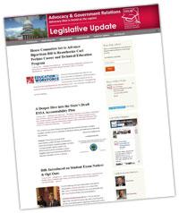 Legislative Update Blog