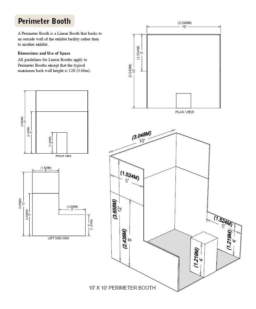 Perimeter Booth Diagram