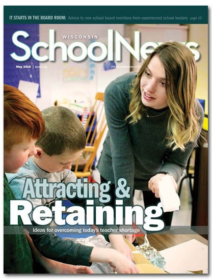 image of Wisconsin School News cover