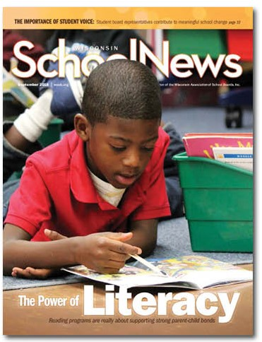 cover of September 2018 issue of Wisconsin School News