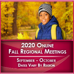 Image 2020 Online Fall Regional Meetings Graphic