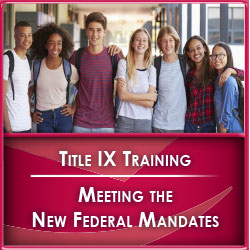 Image Title IX Training Square Banner