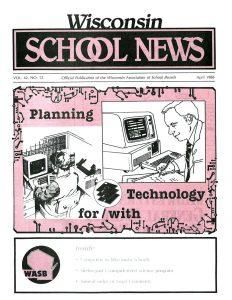 Image April 1988 School News Cover