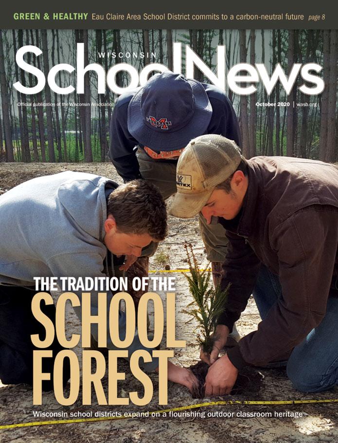 Image October 2020 Cover Wisconsin School News